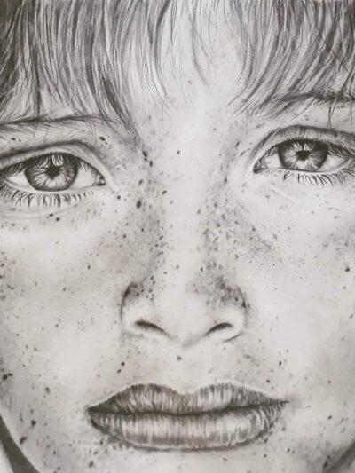 Realistic pencil work
